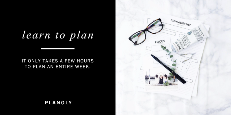 Learn to plan, tips and best practices from Planoly