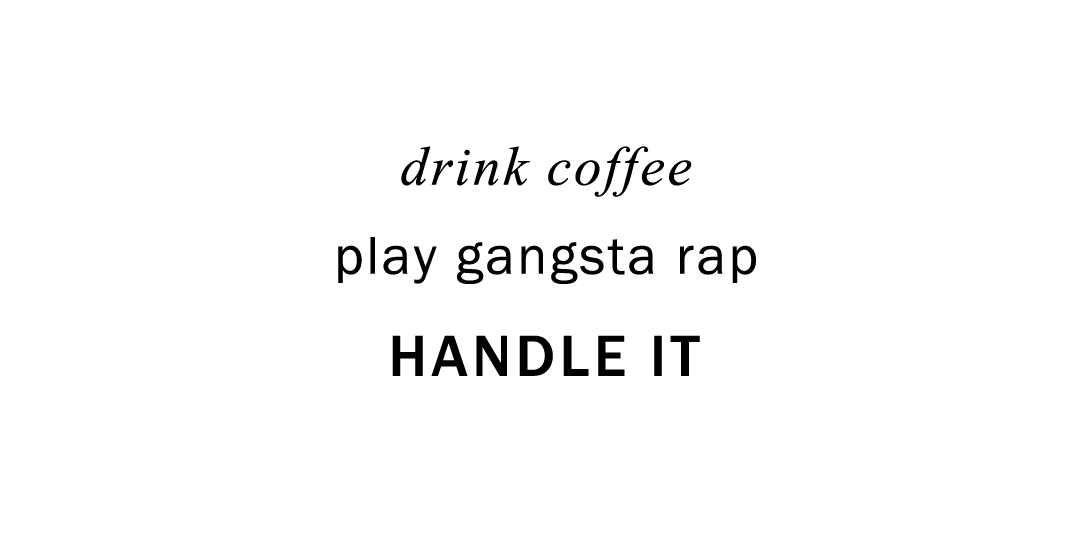 Inspiration quote drink coffee