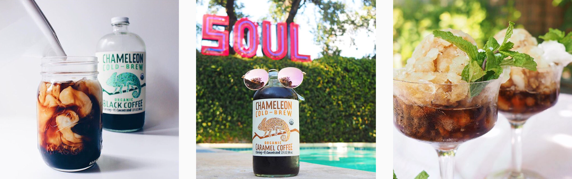 National Coffee Day - Planoly Blog - Chameleon Cold Brew