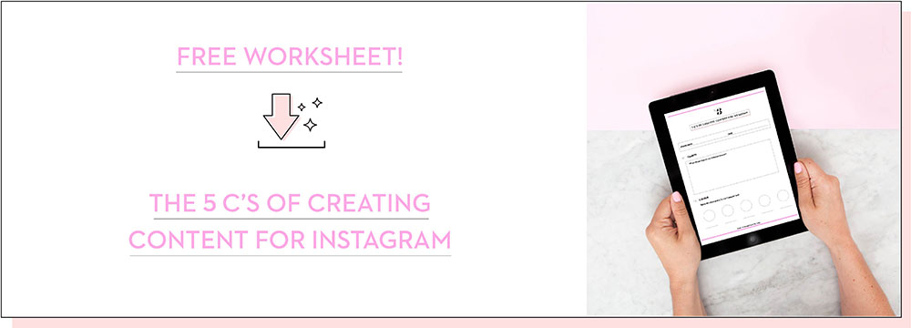The 5 C's of Creating Content for Instagram - Planoly Blog 7