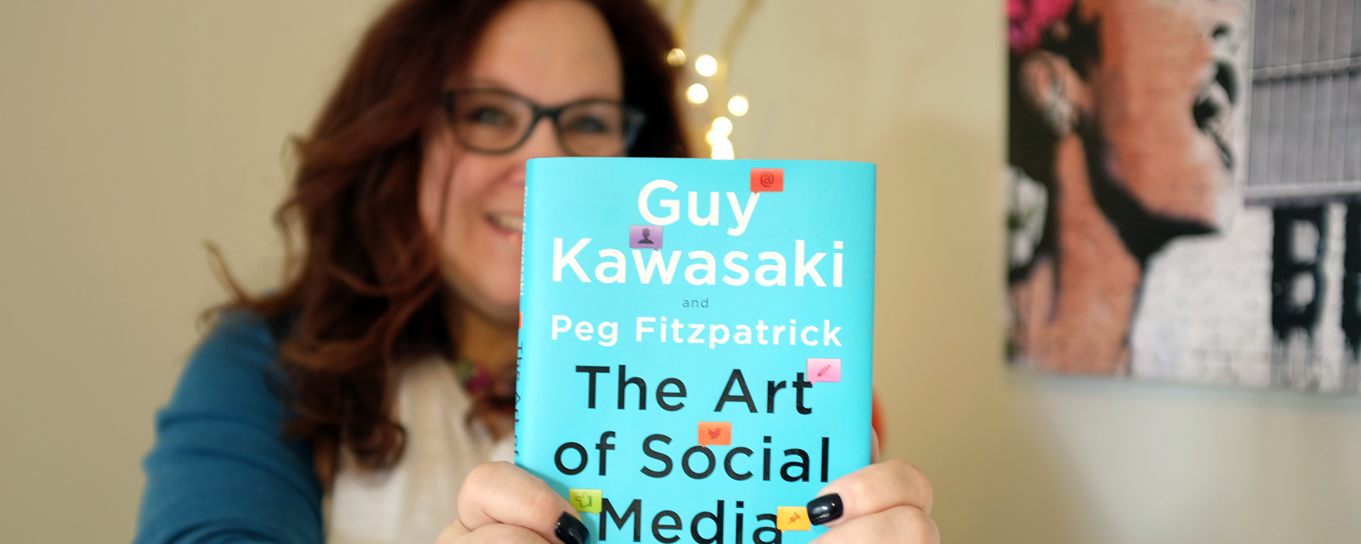The Art of Social Media According to Peg Fitzpatrick