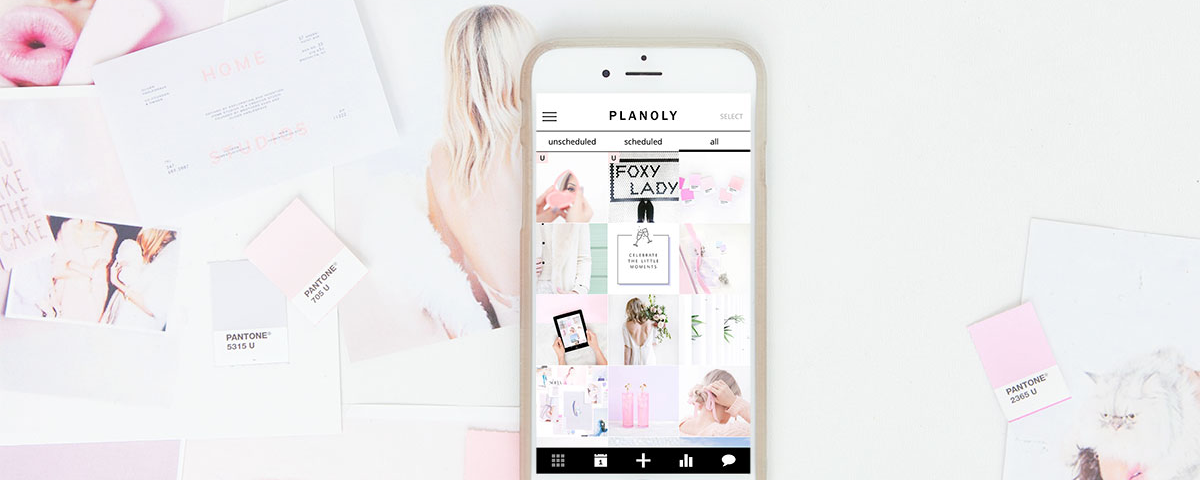 How to Brand Your Instagram by Using Colored Backdrops