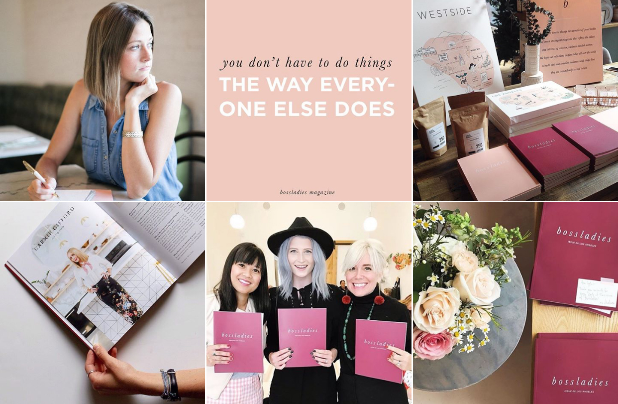 Bossladies Magazine Chelsea Sonksen - Planoly Blog Interview 5