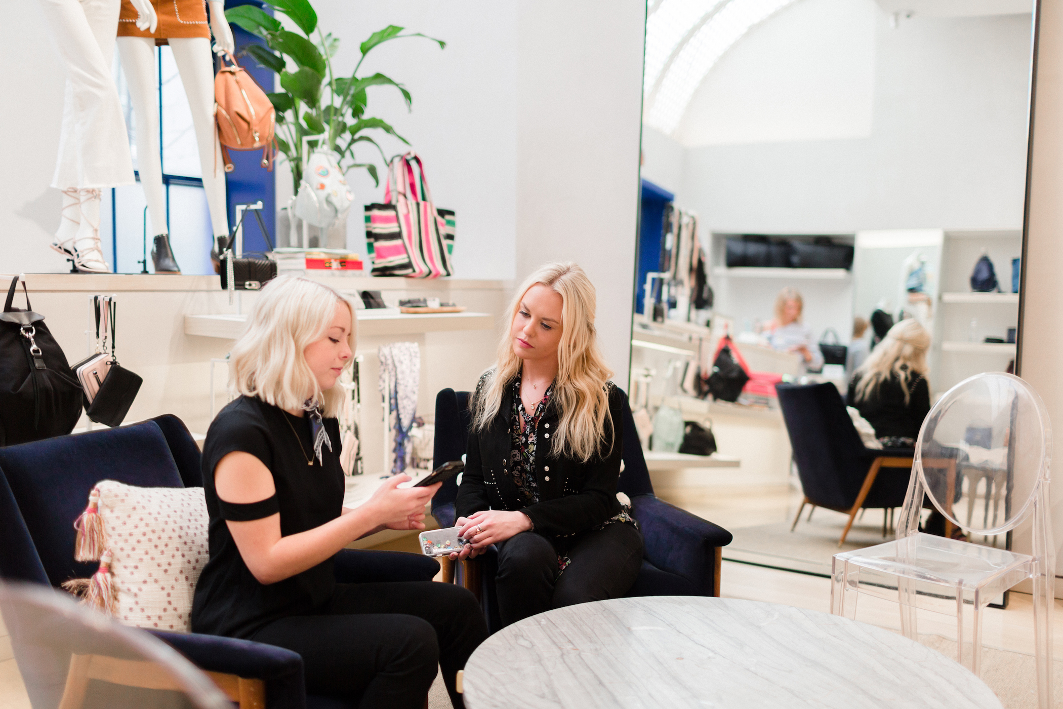 Planoleaders: Claire Buckley and Barrett Coughlin of Rebecca Minkoff - Planoly Blog Interview 4