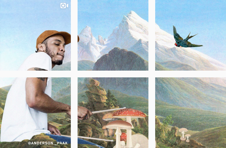 How to Split Your Instagram Grid Beautifully - Planoly Blog - andersonpaak