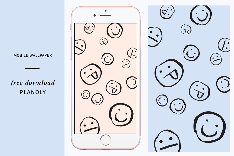 World Emoji Day - Planoly Free Mobile Wallpaper Download