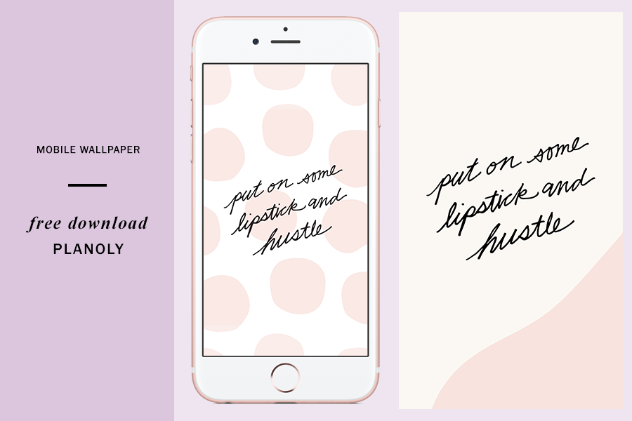 National Lipstick Day Wallpapers - Planoly Blog 4