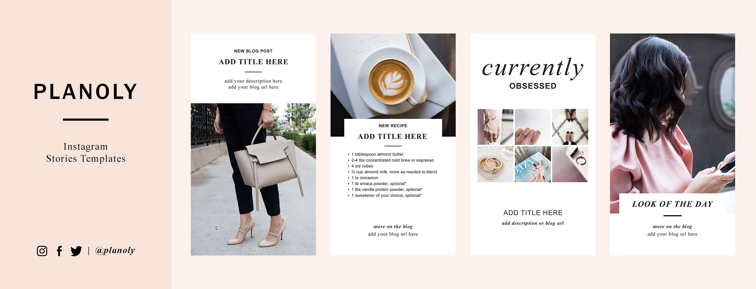 Free Instagram Stories Templates 1