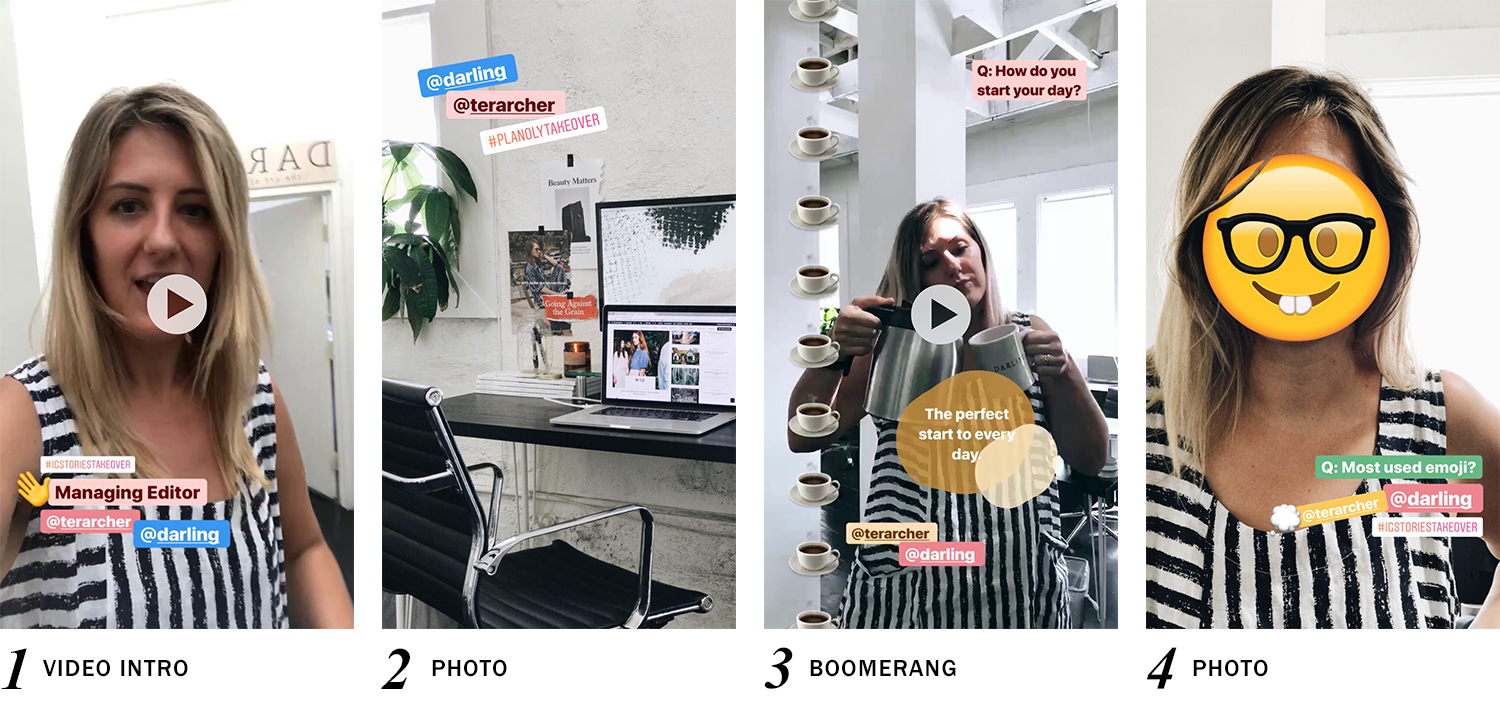 IG Stories Takeover Case Study with Darling Magazine - Planoly Blog 1