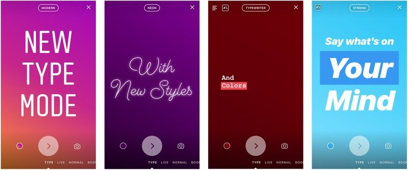 New Instagram Features Text Mode Animated GIF Stickers - Planoly - 1