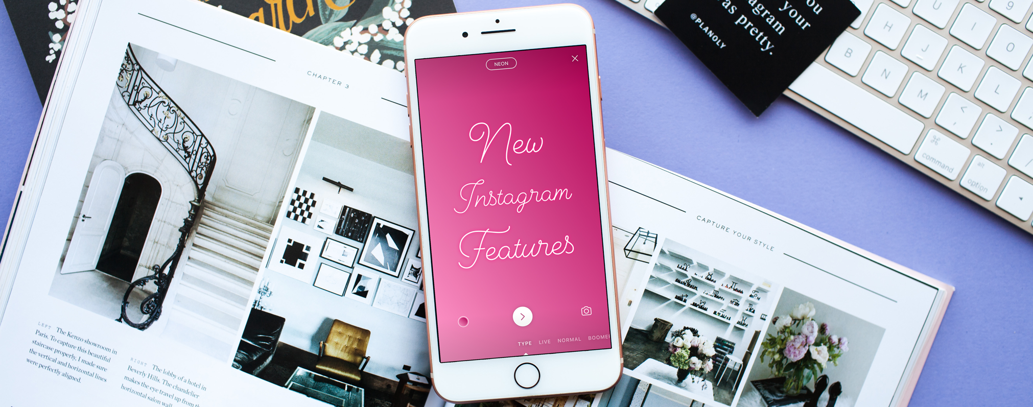 New Instagram Features: Text Mode, Animated GIF Stickers, & More!