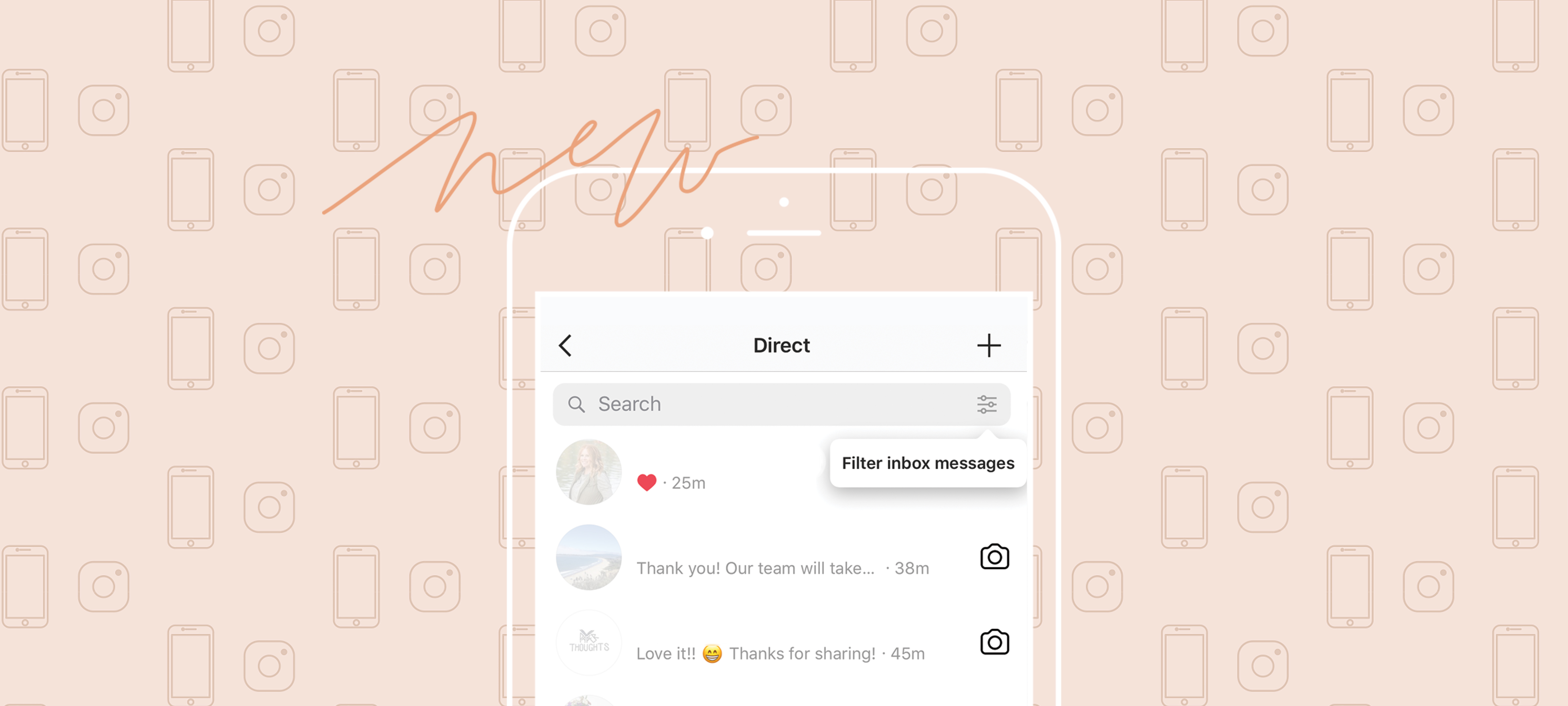 How to Filter and Star Direct Messages on Instagram