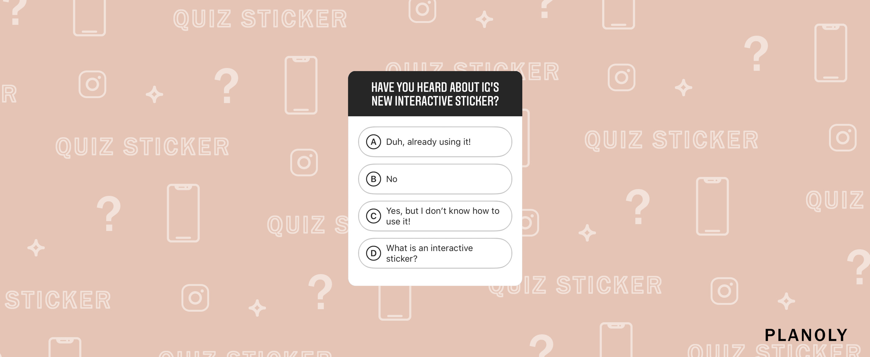 Instagram's New Interactive Quiz Sticker on Stories