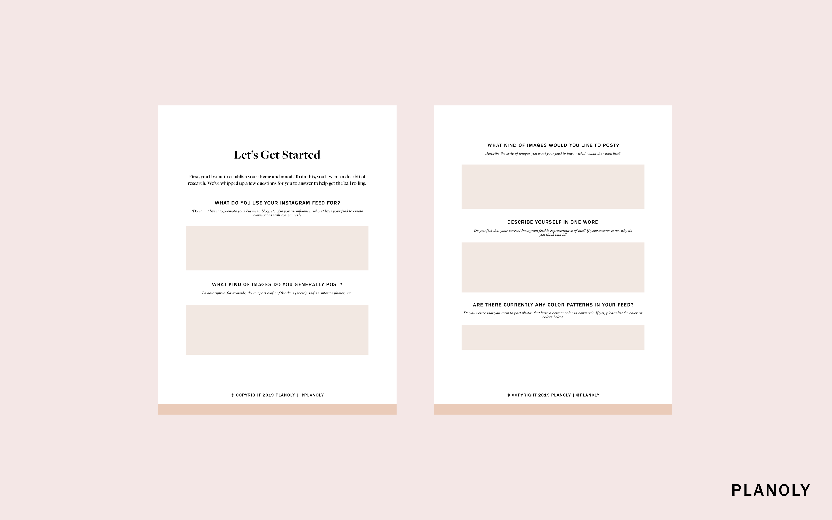Planoly's Small Business School: Define Your Color Story